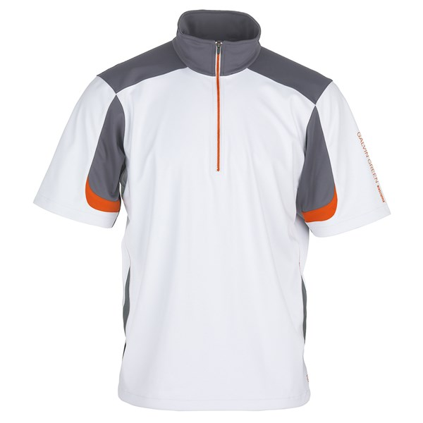 Galvin Green Mens Bolt Short Sleeve Half Zip Windstopper Jacket