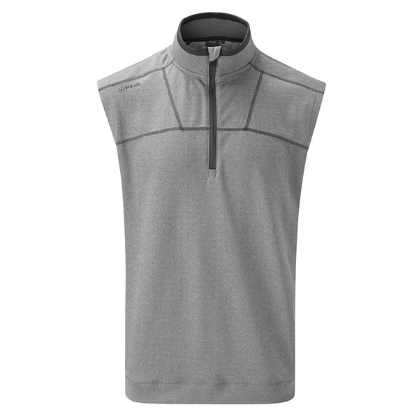 Ping Collection Mens Bowery Half Zip Vest