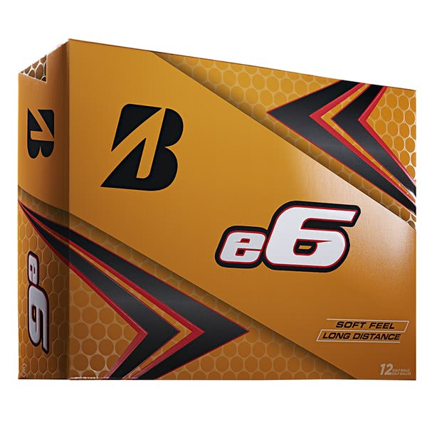 Bridgestone e6 Soft Golf Balls (12 Balls)