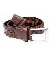 Stromberg Woven Leather Belt
