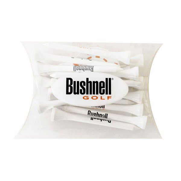 Bushnell Golf Tees & Poker Chip Marker - Pillow Pack