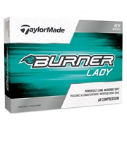 TaylorMade Ladies Burner Golf Balls 2017