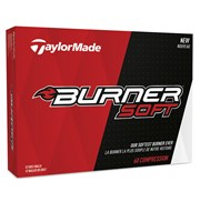 TaylorMade Burner Soft Golf Balls 2017