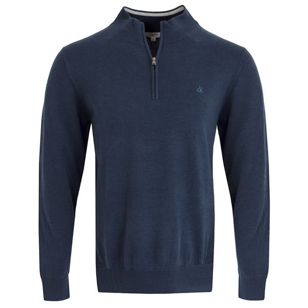 e14c65ae41fdc Calvin Klein Mens Heather Half Zip Sweater. Double tap to zoom. 1  2  3  4  ...