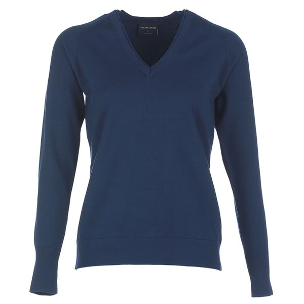 Galvin Green Ladies Caitlin Knitted V-Neck Sweater