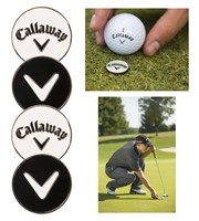 Callaway Metal Ball Marker  4 Pack