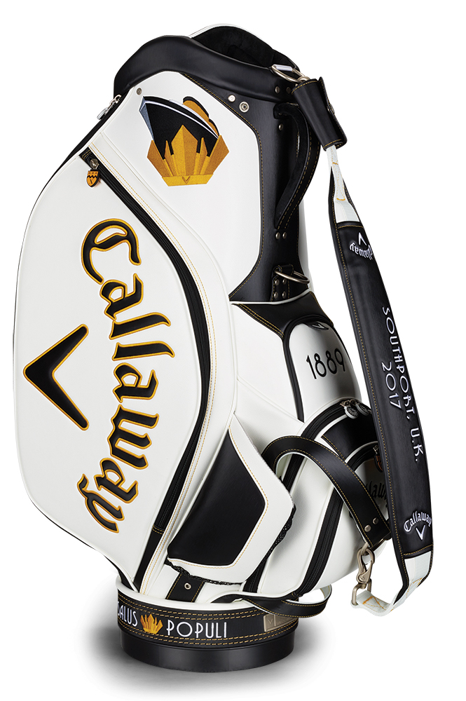callaway major tour staff bag - limited edition