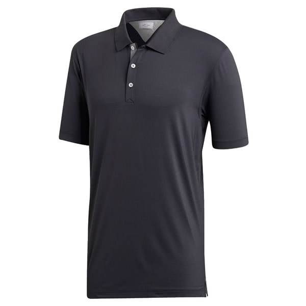 adidas Mens adiPure Anti-See Thru Solid Polo Shirt