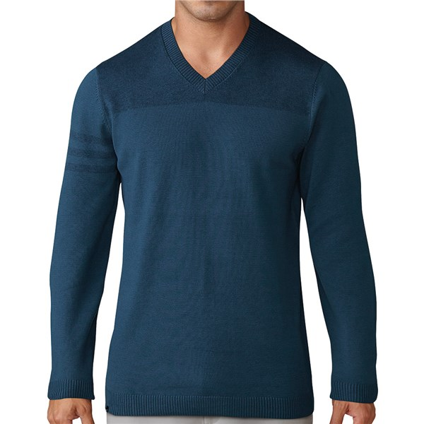 adidas Mens Club 3-Stripes V-Neck Sweater