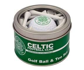 Celtic Golf Ball And Tee Set
