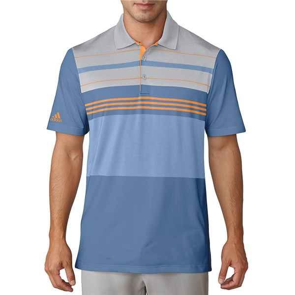 adidas Mens Ultimate 365 Engineered Block Polo Shirt