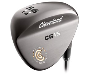 Cleveland CG15 Black Pearl Wedge - LEFT HAND  Tour Conforming Grooves
