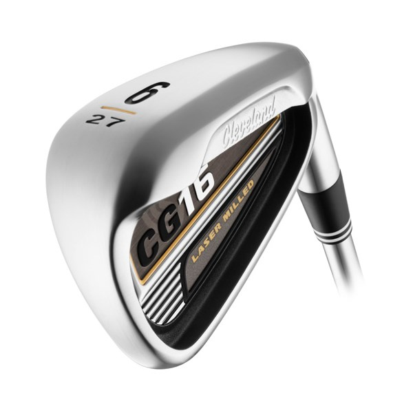 Cleveland CG16 Satin Chrome Demo Irons (Graphite Shaft)