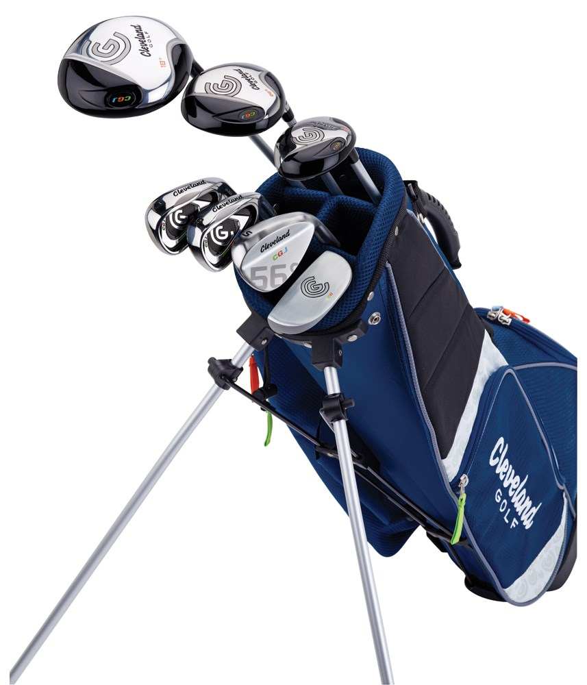Cleveland Junior Large Package Set 10 12 Years on taylormade junior golf clubs for 12 years old