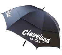 Cleveland 62 Inch Double Canopy Umbrella (Navy/White)