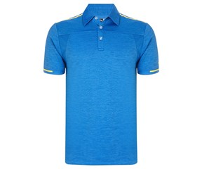 Callaway Mens Heathered Opti Vent Polo Shirt