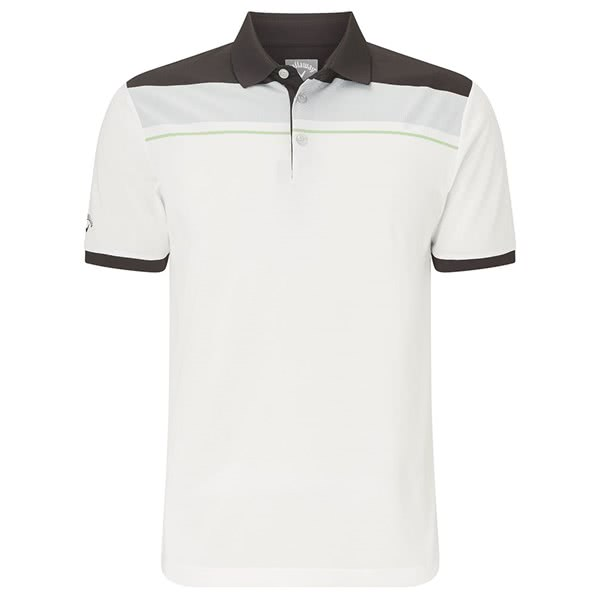 Callaway Mens Geo Block Polo Shirt