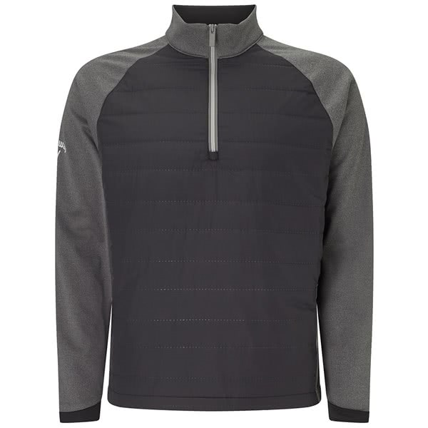 Callaway Mens Ultrasonic Quilted Technical Pullover