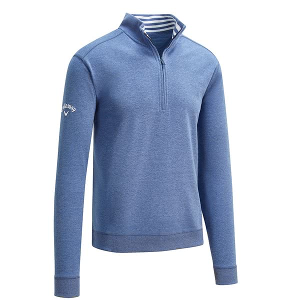 Callaway Mens French Terry Quarter Zip Pullover
