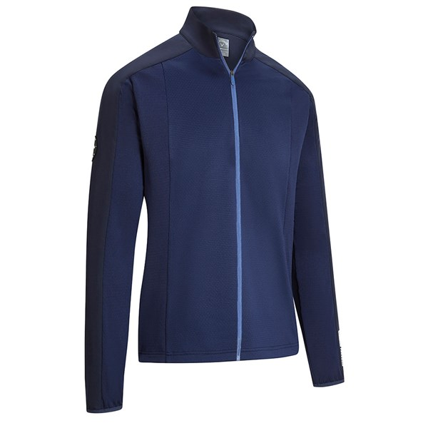 Callaway Mens Thermore Mixed Media Pullover Top