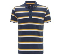 Callaway Mens X Range Bold Stripe Polo Shirt 2015 (Midnight (Navy))
