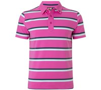 Callaway Mens X Range Bold Stripe Polo Shirt 2015 (Purple)