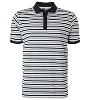 Callaway Mens Chev Striped Polo Shirt 2015