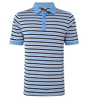 Callaway Mens Chev Striped Polo Shirt