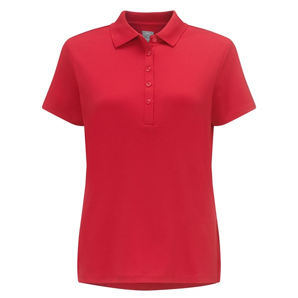 Callaway Ladies Classic Chev Solid Polo Shirt