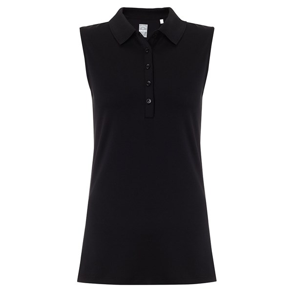 9aeda28545a1c Callaway Ladies Classic Chev Sleeveless Solid Polo Shirt. Double tap to  zoom. 1 ...
