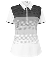 Callaway Ladies Ombre Polka Polo Shirt