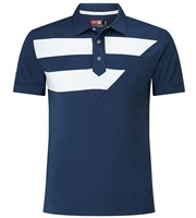 Callaway Mens X Range Striped Diagonal Polo Shirt