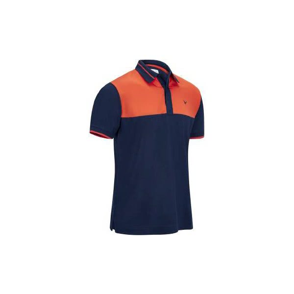 Callaway Boys Youth 2 Colour Blocked Polo Shirt