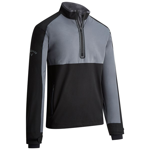 Callaway Mens Long Sleeve Quarter Zip WindShirt