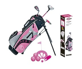 Longridge Challenger Cadet Tots Girls Golf Package Set  3 Year Plus