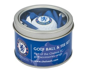 Chelsea Golf Ball And Tee Set
