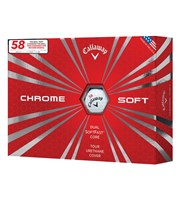 Callaway Chrome Soft 58 Limited Edition Golf Balls  12 Balls