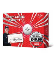 Callaway Chrome Soft Double Dozen Golf Balls  24 Balls
