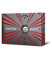 Callaway Chrome Soft X Golf Balls 2017  12 Balls