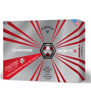 Callaway Chrome Soft X Truvis Red Golf Balls 2017  12 Balls