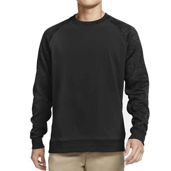Nike Mens Dri-Fit Player Long Sleeve Crew Neck Top