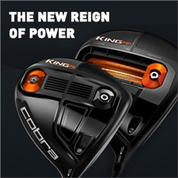The new reign of power is here - Cobra King F6