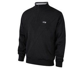 Cypress Point Mens Half Zip Lined Sweater