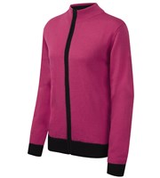 Cypress Point Ladies Full Zip Sweater
