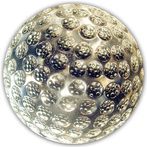 Crystal Golf Ball Paper Weight