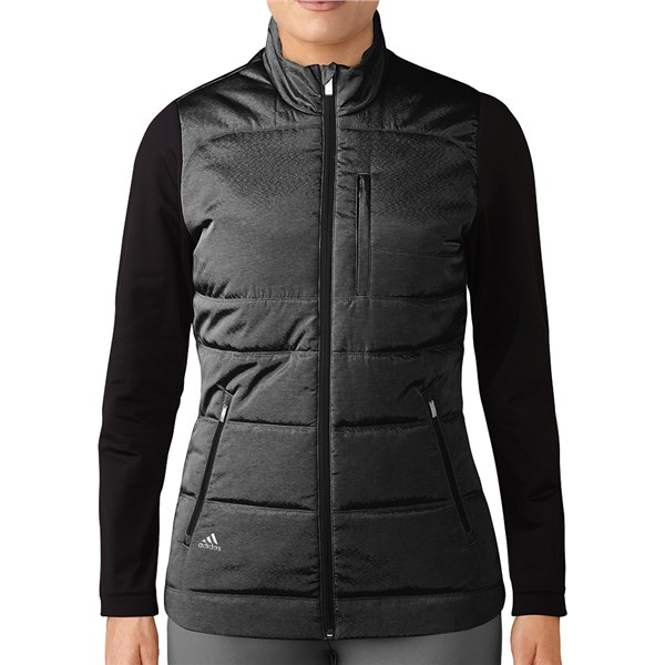 adidas Ladies climawarm Full Zip Quilted PrimaLoft Puffer Jacket