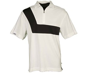 Callaway Mens Zip Front Polo Shirt