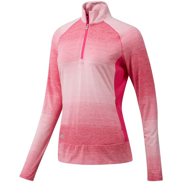 adidas Golf Ladies Range Wear Half Zip Top