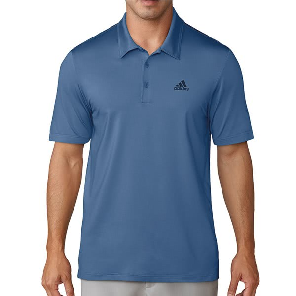 41697891f adidas Mens Ultimate 365 Solid Polo Shirt (Logo on Chest). Double tap to  zoom. 1 ...