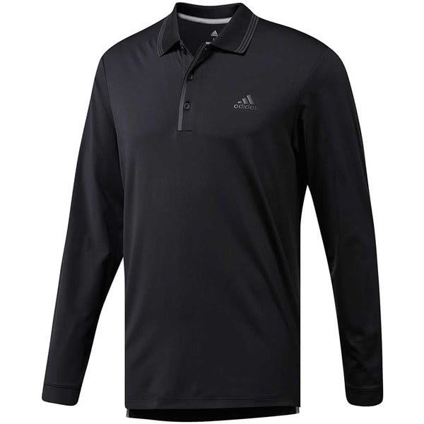 adidas Golf Mens Ultimate Long Sleeve Polo Shirt
